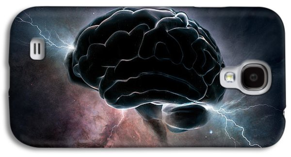 Nebula Galaxy S4 Cases - Cosmic Intelligence Galaxy S4 Case by Johan Swanepoel