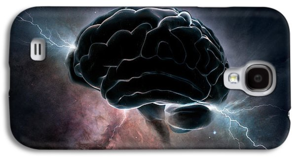 Awareness Galaxy S4 Cases - Cosmic Intelligence Galaxy S4 Case by Johan Swanepoel
