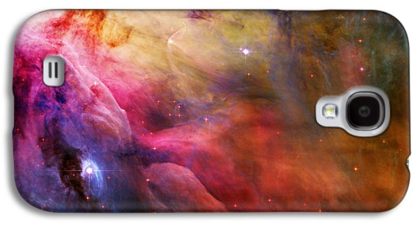 Stellar Paintings Galaxy S4 Cases - Cosmic Orion Nebula Galaxy S4 Case by Celestial Images