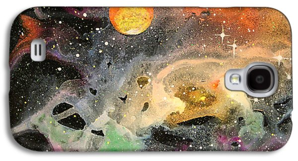 Star Glass Galaxy S4 Cases - Cosmos Galaxy S4 Case by Wolfgang Finger
