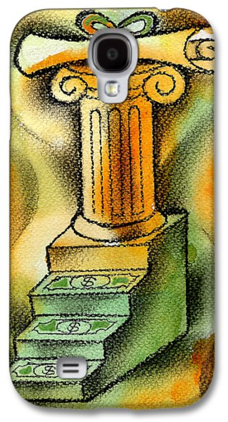 Education Paintings Galaxy S4 Cases - Cost of Education Galaxy S4 Case by Leon Zernitsky