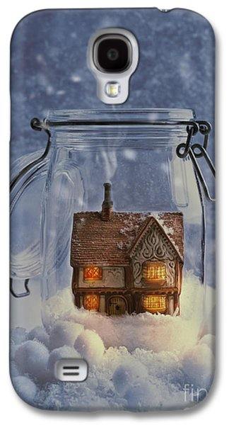 Country Cottage Galaxy S4 Cases - Cosy Home Galaxy S4 Case by Amanda And Christopher Elwell