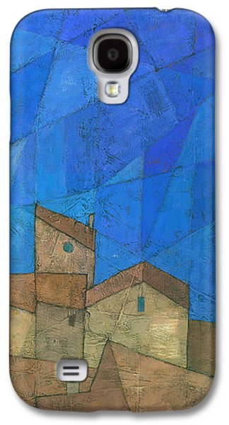 Abstracted Galaxy S4 Cases - Cote d Azur II Galaxy S4 Case by Steve Mitchell