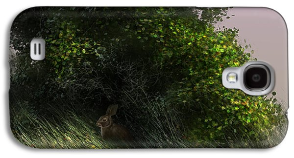 Rabbit Digital Galaxy S4 Cases - Cottontail Galaxy S4 Case by Aaron Blaise