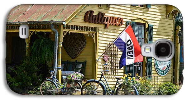 Leipers Fork Galaxy S4 Cases - Country Antiques Galaxy S4 Case by Julie Penney