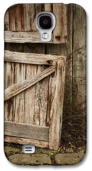 Barn Doors Galaxy S4 Cases - Country Charm Galaxy S4 Case by Amy Weiss