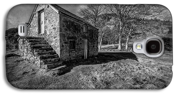 Stone Buildings Galaxy S4 Cases - Country Cottage v2 Galaxy S4 Case by Adrian Evans