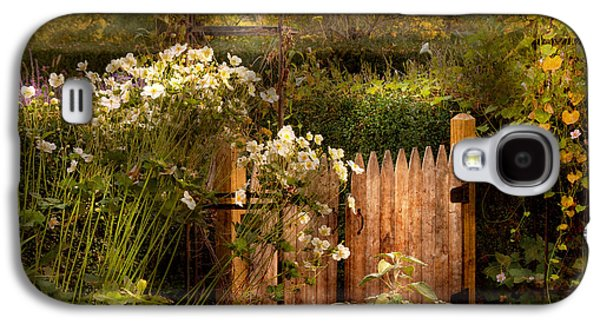 Country Scenes Galaxy S4 Cases - Country - Country autumn garden  Galaxy S4 Case by Mike Savad