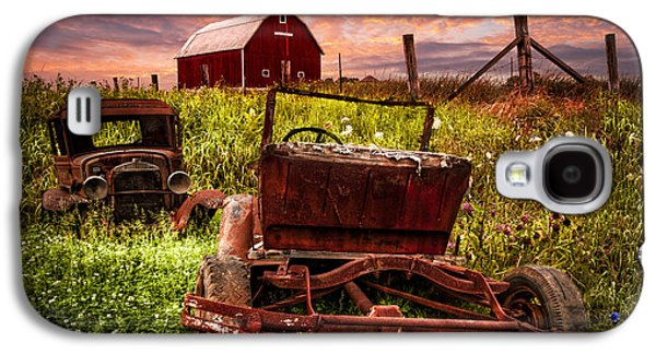 Country Cousins Galaxy S4 Case by Debra and Dave Vanderlaan