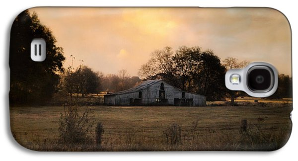 Tennessee Barn Galaxy S4 Cases - Country Heirloom Galaxy S4 Case by Jai Johnson