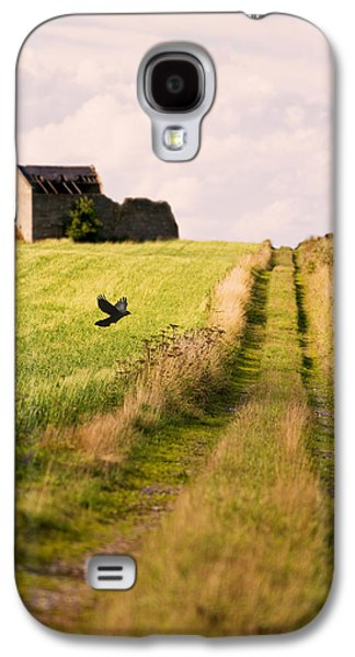Stone Buildings Galaxy S4 Cases - Country Lane Galaxy S4 Case by Amanda And Christopher Elwell