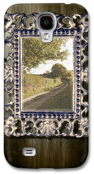 Gothic Galaxy S4 Cases - Country Lane Reflected In Mirror Galaxy S4 Case by Amanda And Christopher Elwell