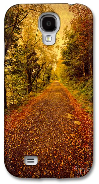 North Wales Digital Art Galaxy S4 Cases - Country Lane v2 Galaxy S4 Case by Adrian Evans