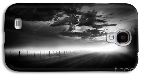 Surreal Landscape Galaxy S4 Cases - Country Road Galaxy S4 Case by Dan Jurak