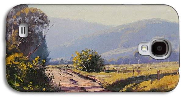 Shed Galaxy S4 Cases - Country Road Galaxy S4 Case by Graham Gercken