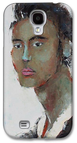 Becky Kim Paintings Galaxy S4 Cases - Courage Galaxy S4 Case by Becky Kim