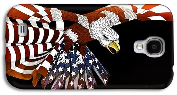 Best Sellers -  - Animation Galaxy S4 Cases - Courage Galaxy S4 Case by Charles Drummond