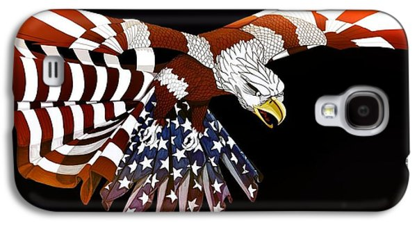Animation Galaxy S4 Cases - Courage Galaxy S4 Case by Charles Drummond