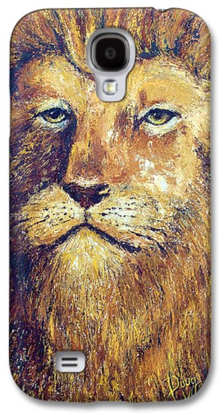 Courage Paintings Galaxy S4 Cases - Courage Galaxy S4 Case by Doug Kreuger