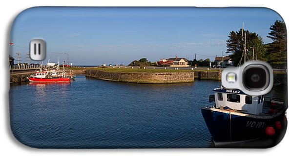 Fishing Village Galaxy S4 Cases - Courtown Fishing Harbour, Near Gorey Galaxy S4 Case by Panoramic Images