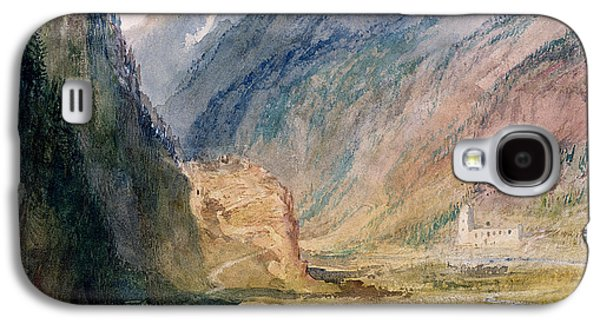 Building Drawings Galaxy S4 Cases - Couvent Du Bonhomme Chamonix Galaxy S4 Case by Joseph Mallord William Turner