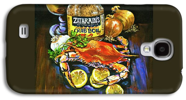 Crab Fixin's Galaxy S4 Case by Dianne Parks
