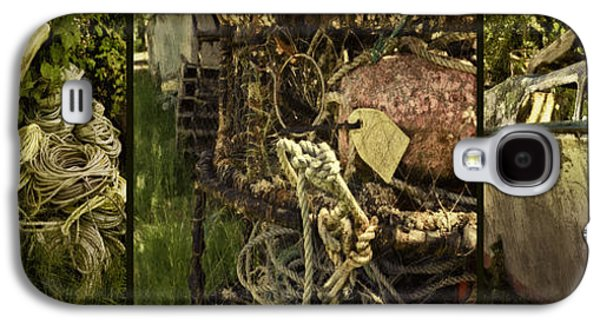 Meshed Galaxy S4 Cases - Crabbing Relics Galaxy S4 Case by Jean OKeeffe Macro Abundance Art