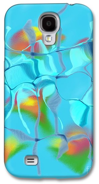 Abstract Forms Galaxy S4 Cases - Cracked Galaxy S4 Case by Terry Weaver