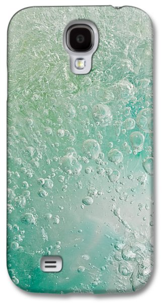Colorful Abstract Galaxy S4 Cases - Cracking Galaxy S4 Case by Shannon Workman