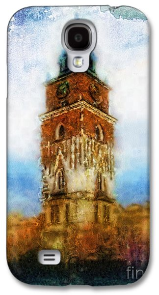 Ancient Galaxy S4 Cases - Cracov City Hall Galaxy S4 Case by Mo T