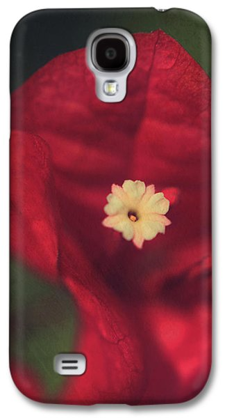 Texture Flower Galaxy S4 Cases - Cradle Me in Your Arms Galaxy S4 Case by Laurie Search
