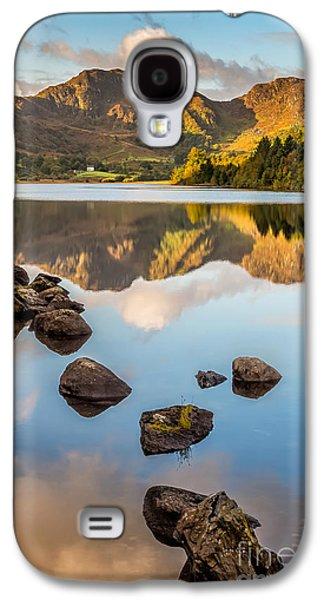 Waterscape Digital Galaxy S4 Cases - Crafnant Rocks Galaxy S4 Case by Adrian Evans