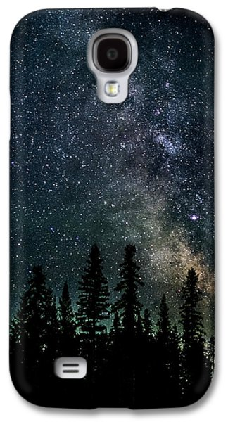 Astral Galaxy S4 Cases - Cranbrook Milkyway Galaxy S4 Case by Rob Tullis