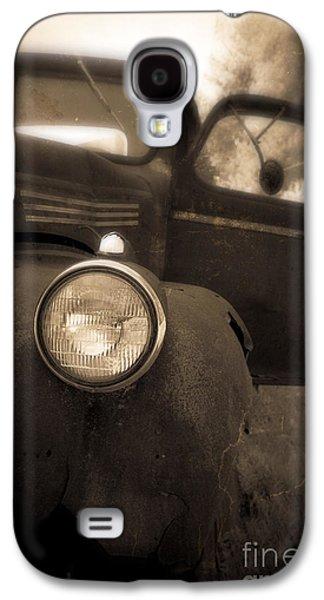 Farm Truck Galaxy S4 Cases - Crash Galaxy S4 Case by Edward Fielding