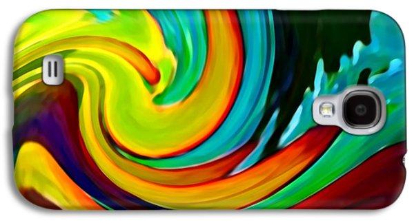 Crashing Wave Galaxy S4 Case by Amy Vangsgard