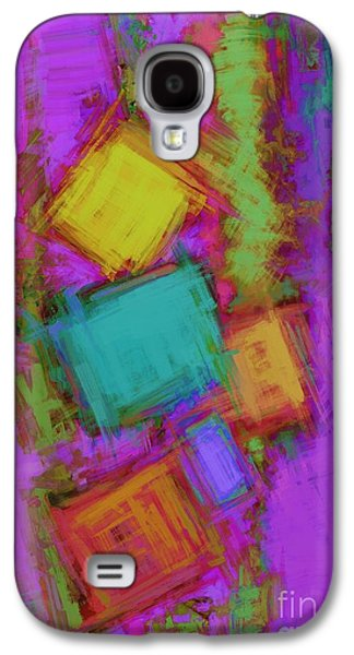 Loose Style Digital Art Galaxy S4 Cases - Crashover Galaxy S4 Case by Keith Mills