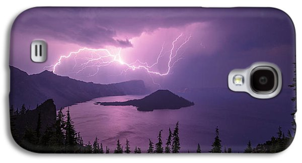 Weather Galaxy S4 Cases - Crater Storm Galaxy S4 Case by Chad Dutson