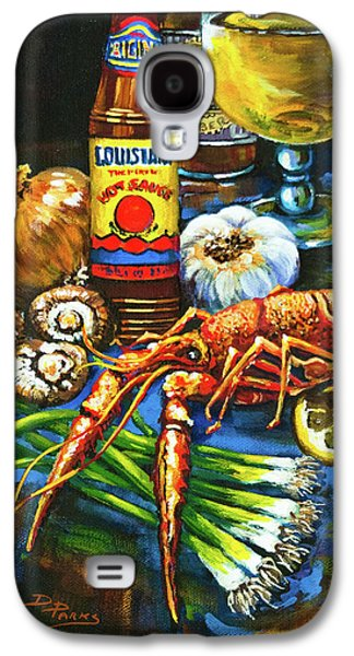 Crawfish Fixin's Galaxy S4 Case by Dianne Parks