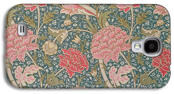 Floral Tapestries - Textiles Galaxy S4 Cases - Cray Galaxy S4 Case by William Morris