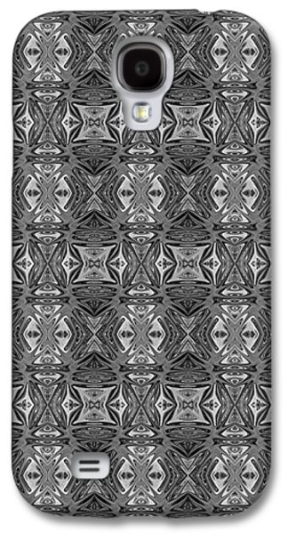 Abstract Digital Tapestries - Textiles Galaxy S4 Cases - CrazieArt Designs by Thia - Danielle Galaxy S4 Case by Thia Stover