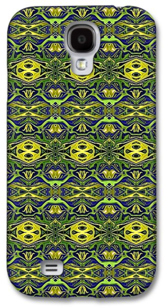 Abstract Digital Tapestries - Textiles Galaxy S4 Cases - CrazieArt Designs - e Galaxy S4 Case by Thia Stover