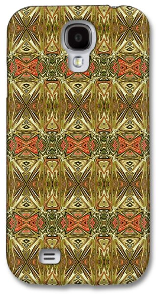 Abstract Digital Tapestries - Textiles Galaxy S4 Cases - CrazieArt Designs by Thia - Kiana Galaxy S4 Case by Thia Stover