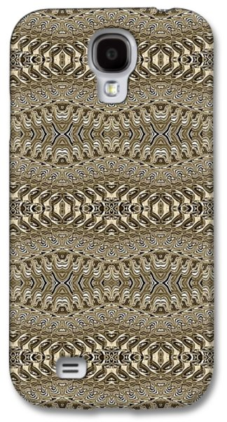 Abstract Digital Tapestries - Textiles Galaxy S4 Cases - CrazieArt Designs by Thia - Nessa 2 Galaxy S4 Case by Thia Stover