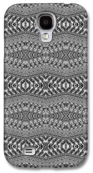 Abstract Digital Tapestries - Textiles Galaxy S4 Cases - CrazieArt Designs by Thia - Nessa 3 Galaxy S4 Case by Thia Stover
