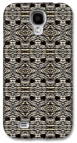Abstract Digital Tapestries - Textiles Galaxy S4 Cases - CrazieArt Designs by Thia - Olivia 2 Galaxy S4 Case by Thia Stover