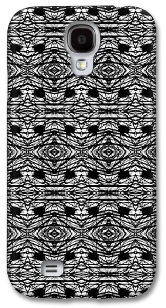 Abstract Digital Tapestries - Textiles Galaxy S4 Cases - CrazieArt Designs by Thia - Olivia 3 Galaxy S4 Case by Thia Stover