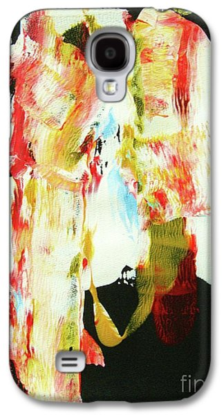 Indian Ink Galaxy S4 Cases - CRAZY HORSE  an American Hero Galaxy S4 Case by Roberto Prusso