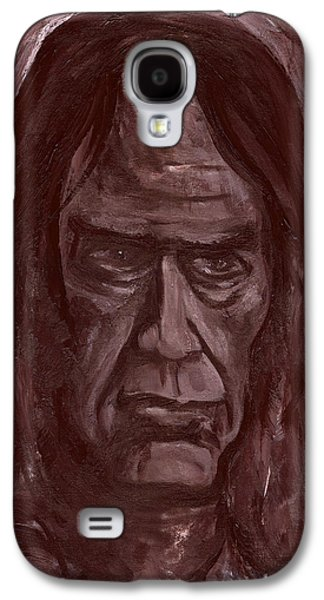 Neil Young Paintings Galaxy S4 Cases - Crazy Horse Galaxy S4 Case by Jon Griffin
