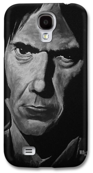 Neil Young Paintings Galaxy S4 Cases - Crazy Horse Galaxy S4 Case by William Walts