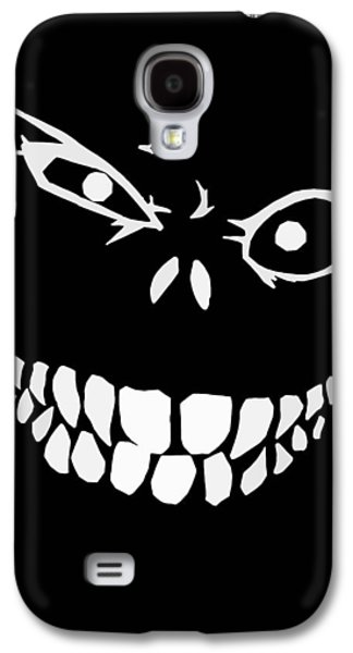 Monster Galaxy S4 Cases - Crazy Monster Grin Galaxy S4 Case by Nicklas Gustafsson